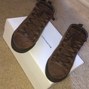 Balenciaga Arena High 'Maroon Chocolate'